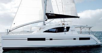 Jachty: Leopard 48 - Dwa kadłuby, dwa kokpity