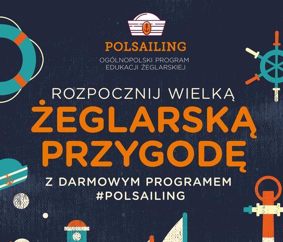 Rozpocznij wielką żeglarską przygodę z darmowym programem POLSAILING!